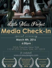 Little Miss Perfect Media Invite